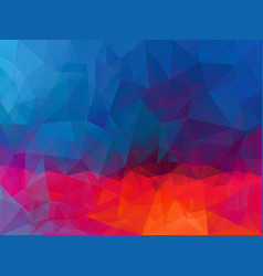 Dark red blue pattern vector