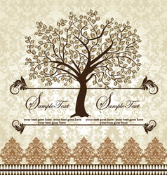 Family Reunion Invitation Card vector