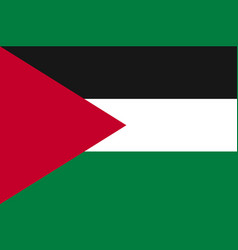 Flag of palestine state vector