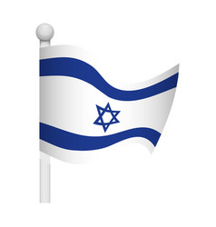 Israel of flag vector