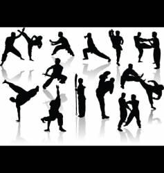 Karate design vector