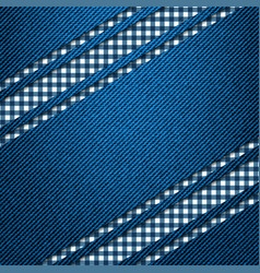 Seamless vertical stripe pattern black and white vector