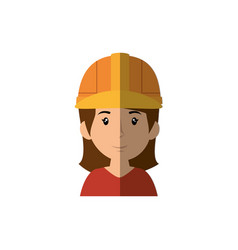 Woman worker cartoon vector