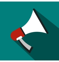 Megaphone icon in flat style vector image vector image