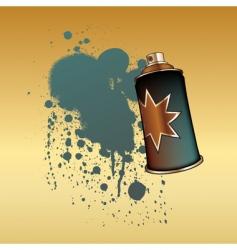 spray aerosol vector image