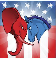 american politics vector image