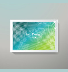 bright banner template for business design vector image
