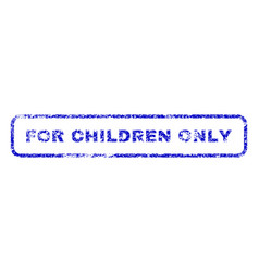 For children only rubber stamp vector