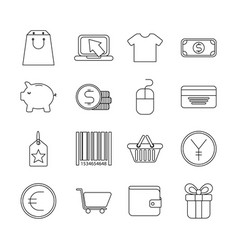 infographics template icons vector image