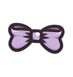Isolated cute bow vector