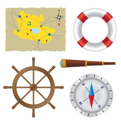 Sailor set vector image vector image