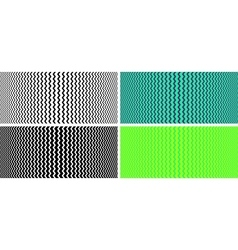 Seamless texture with optical effect vector image vector image