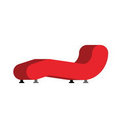 Sofa therapist isolated couch psychologist vector