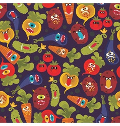 vegetable cartoons vector image