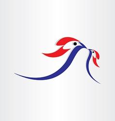 birds feed symbol design vector image