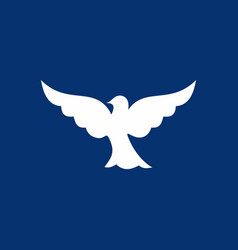 dove the symbol of the holy spirit vector image vector image