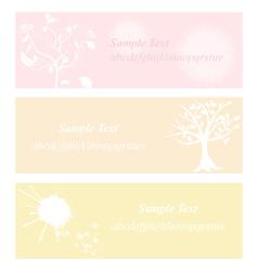 flower pastel eps10 vector image