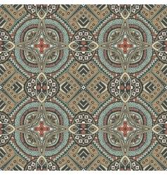 vintage tiles onamental pattern vector image