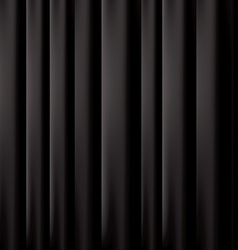 black curtain background EPS 10 vector image