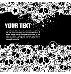 emo background vector image vector image