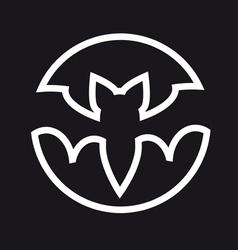 four bat vector image