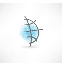 Global icon vector image vector image