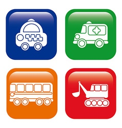 transport design vector image vector image