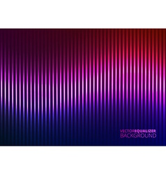 A Violet Music Equalizer vector