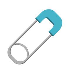 Cloth diaper clip vector
