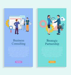 company development business work online vector image