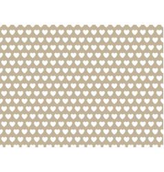 Gray heart shape pattern vector