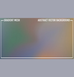 green and blue blurred gradient background vector image
