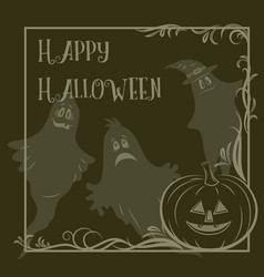 Holiday halloween background vector