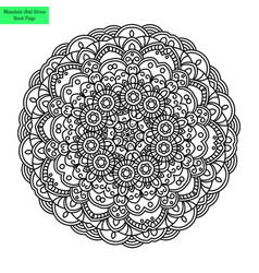 Mandala flower vector