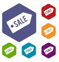 Sale icons set vector image
