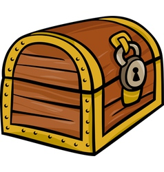 treasure chest clip art cartoon vector image