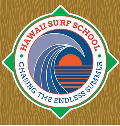 Classic Surf Logo vector image vector image