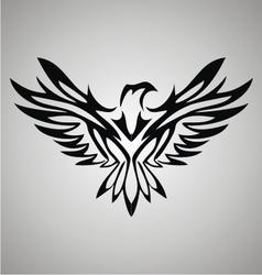 Tribal Eagle vector image vector image