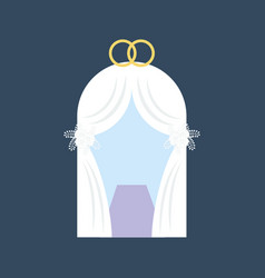 Wedding tent vector