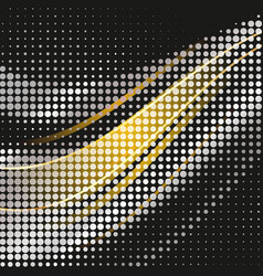 abstract geometric graphic design halftone vector image