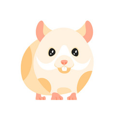 animal pet - hamster vector image