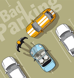 Bad parking vector