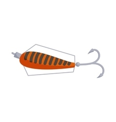 Fishing lure icon cartoon style vector