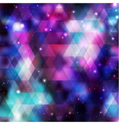 Galaxy background Colorful vector image