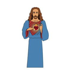 jesus christ icon image vector image