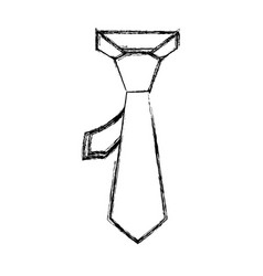 Male executive tie vector