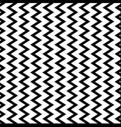 Repeatable wavy zigzag vertical lines in parallel vector