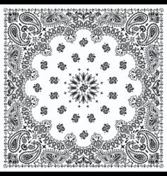 bandana vector image vector image