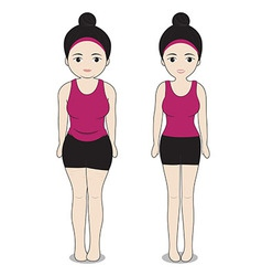 Change fat to shapely vector