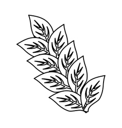 Leaves natural concept vector image vector image